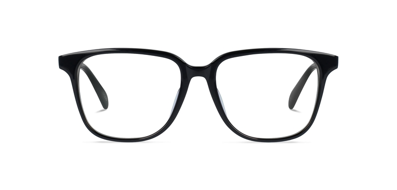 Traditional-style black frame available from Chichester opticians, North