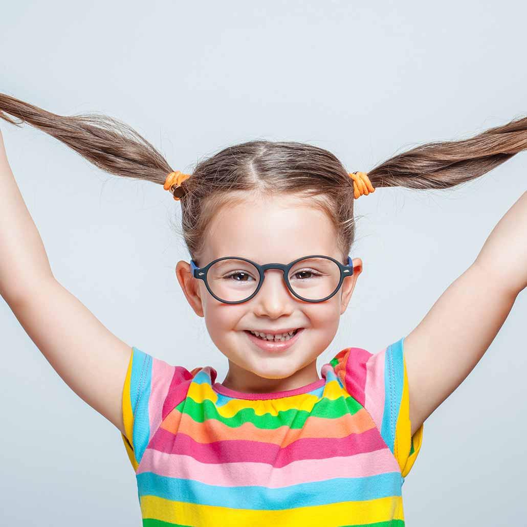 Children's eye tests at North Opticians Chichester