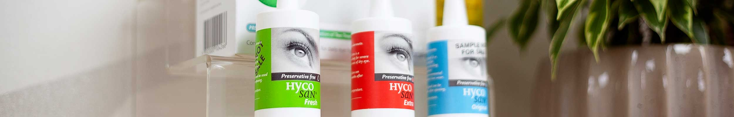 Eyecare supplements and eye health care products from North Opticians Chichester