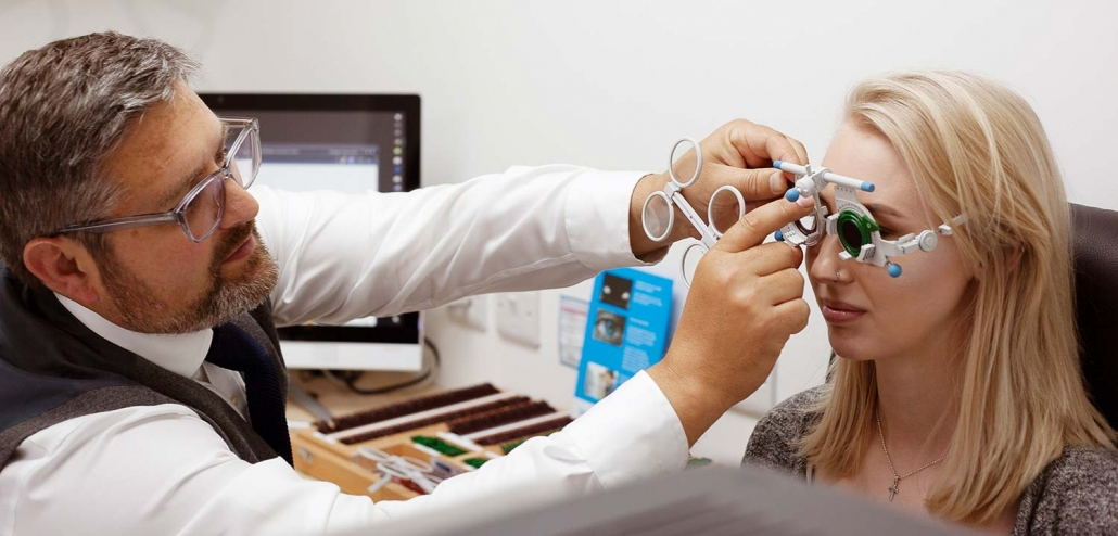 Eye care services from North Opticians, Chichester.