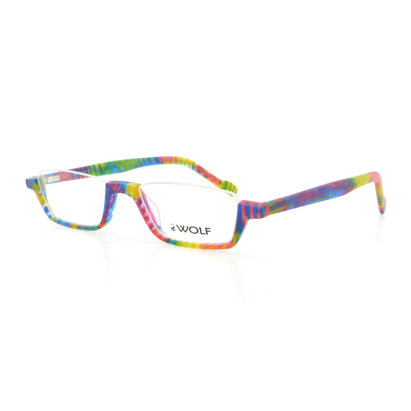 reading glasses in parrot by wolf eyewear